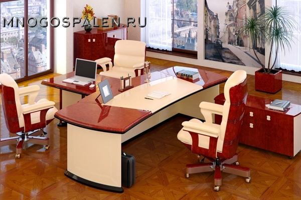 Кабинет Romano купить в салоне-студии мебели Барселона mnogospalen.ru много спален мебель Италии классические современные