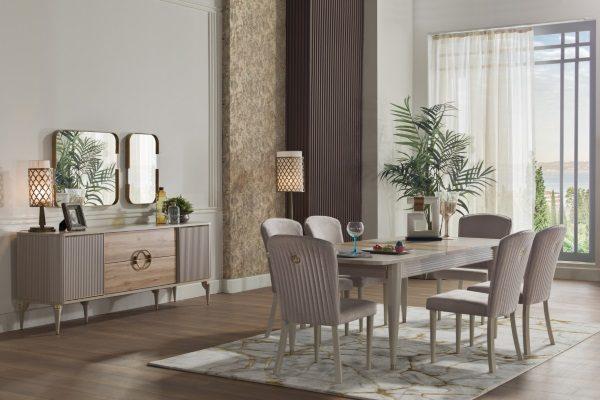 Гостиная Sanvito купить в салоне-студии мебели Барселона mnogospalen.ru много спален мебель Италии классические современные